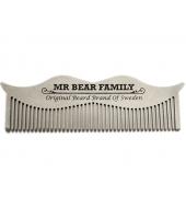 Mr Bear Family metallist vuntsikamm