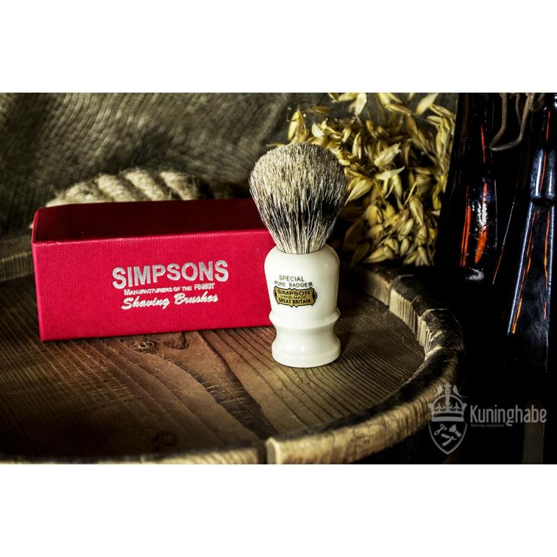 simpsons the special pure badger kuninghabe beard shaving razors. Black Bedroom Furniture Sets. Home Design Ideas