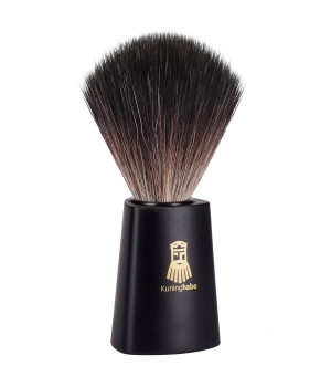 Kuninghabe shaving brush Black Fibre New.jpg