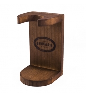 Antiga Barbearia de Bairro Wooden holder for brushes