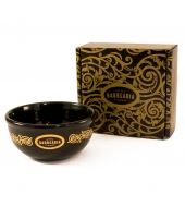 "Antiga Barbearia Shaving bowl ""Black & Gold"""