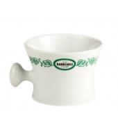 Antiga Barbearia de Bairro Shaving mug with holder
