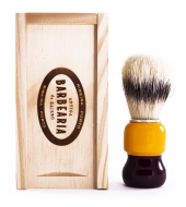 Antiga Barbearia de Bairro Shaving Brush in a wooden box