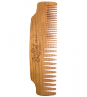 Big Red Beard Combs - Beard comb No.53 Cherry