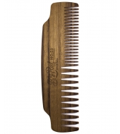 Big Red Beard Combs - Beard comb No.53 Teak