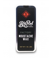 Big Red Beard Combs Moustache wax Factory 30ml