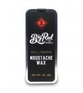 Big Red Beard Combs Moustache wax Dillinger 30ml