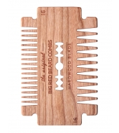 Big Red Beard Combs Partakampa Hardwood Blade Kirsikka