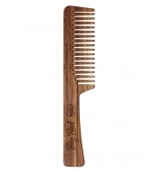 Big Red Beard Combs - Beard comb No.7 Teak