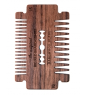 Big Red Beard Combs - Beard comb Hardwood Blade Walnut