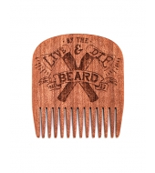 Big Red Beard Combs - Beard comb No.5 Live & Die by the Beard