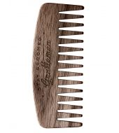 Big Red Beard Combs - Beard comb No.9 Walnut