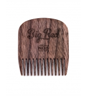 Big Red Beard Combs - Beard comb No.5 Walnut