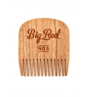 Big Red Beard Combs - Beard comb No.5 Cherry