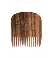 Big Red Beard Combs Habemekamm No.5 Tiikpuu