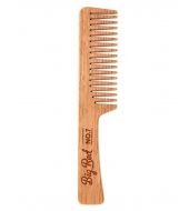 Big Red Beard Combs - Beard comb No.7 Cherry