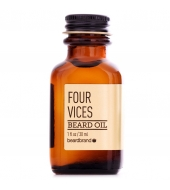 Beardbrand Beard oil Four Vices - Gold line 30ml