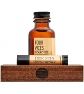 Beardbrand Minimalist's kit Four Vices