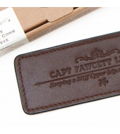 Captain Fawcett Leather Sleeve for Beard Comb