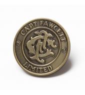 Captain Fawcett rinnamärk