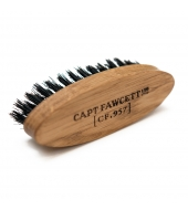 Captain Fawcett Wild Boar Bristle Moustache Brush