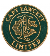 Captain Fawcett Embroidered Felt Patch