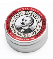 Captain Fawcett Moustache wax The Chap Debonair 15ml