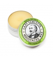 "Captain Fawcett Moustache wax ""Triumphant"" Rufus Hound 15ml"