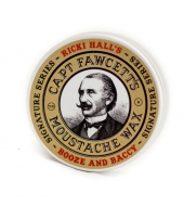 Captain Fawcett Moustache wax Ricki Hall Booze & Baccy 15ml