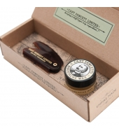 Captain Fawcett Moustache Kit Sandalwood