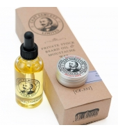 Captain Fawcett Private Stock Beard Oil & Moustache Wax