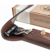 Captain Fawcett Razor & Handcrafted Leather Case