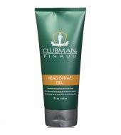 Clubman Pinaud Head Shaving gel 177ml