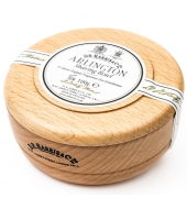 D.R. Harris Shaving soap Arlington in wooden bowl