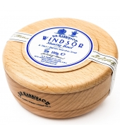 D.R. Harris Shaving soap Windsor in wooden bowl