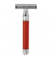 Edwin Jagger Double Edge Razor, Red