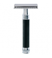 Edwin Jagger razor 3D Black, Chromed