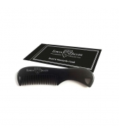 Edwin Jagger Beard and Moustache comb Black