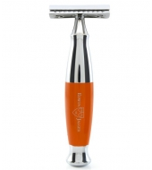 Edwin Jagger DE razor Closed Comb Orange