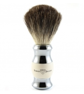 Edwin Jagger shaving brush, Ivory