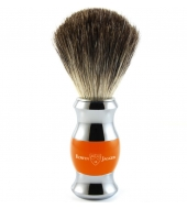 Edwin Jagger shaving brush, Orange