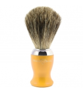 Edwin Jagger shaving brush, Yellow