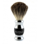 Edwin Jagger Shaving brush, Pure badger, Ebony
