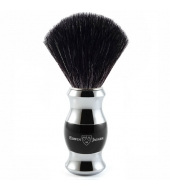 Edwin Jagger Black Fibre Shaving brush, Ebony