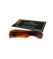 Edwin Jagger Beard and Moustache comb Brown