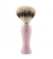 Edwin Jagger Shaving brush Silvertip Fibre® Pink