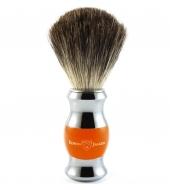Edwin Jagger shaving brush, Orange