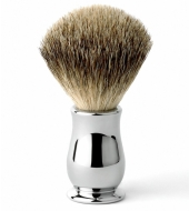 Edwin Jagger raseerimispintsel Premium Best Badger Kroomitud