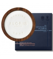 Floris Shaving soap in wooden bowl N89 100g