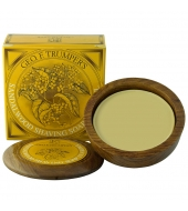 Geo. F. Trumper Shaving soap in wooden bowl Sandalwood